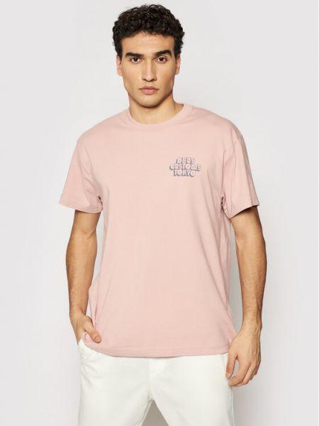 Różowa t-shirt Deus Ex Machina
