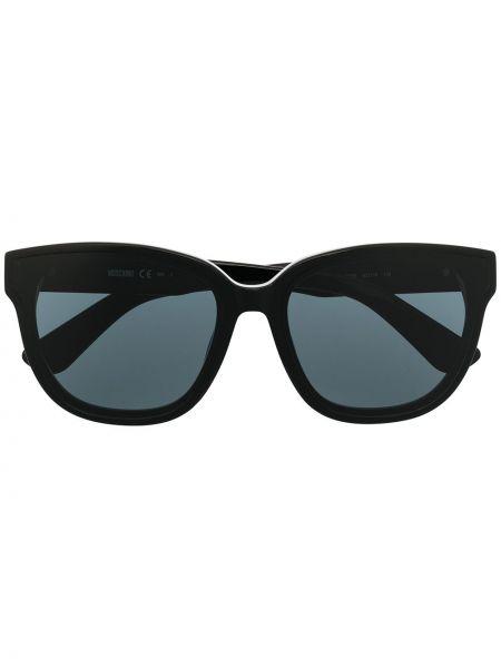 Черные солнцезащитные очки Moschino Eyewear