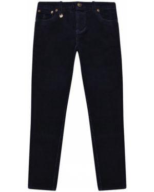 Синие брюки с карманами вельветовые Polo Ralph Lauren