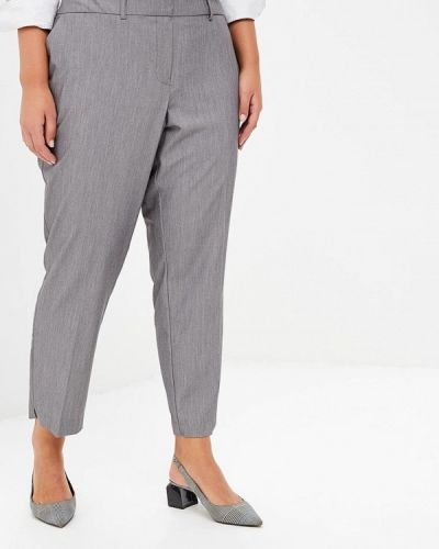 Серые брюки повседневные Dorothy Perkins Curve