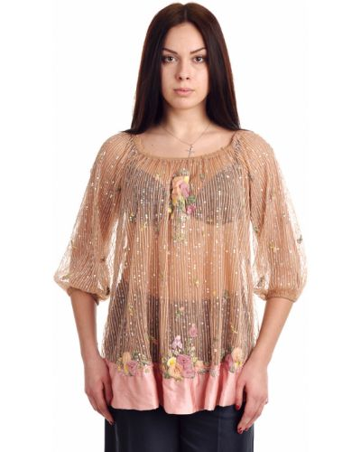 Розовая блузка Blumarine