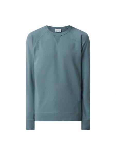 Bluza bawełniana - zielona Norse Projects