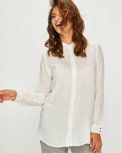 Блузка с длинным рукавом на пуговицах из вискозы Answear