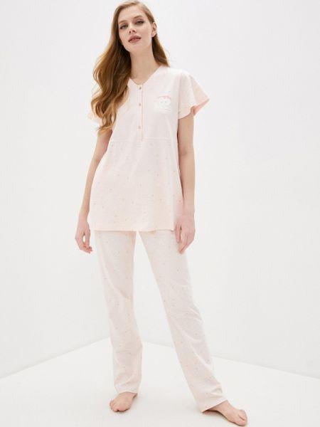 Розовая пижамная пижама Relax Mode