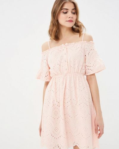 Платье розовое весеннее Indiano Natural