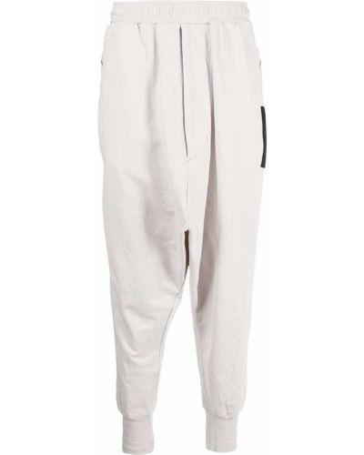 Białe spodnie bawełniane Julius