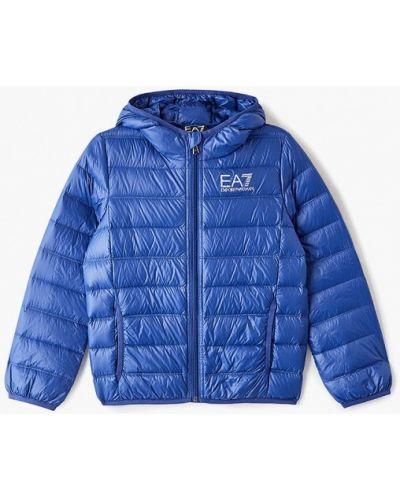 Синяя куртка Ea7