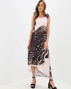 Платье розовое прямое Glam Goddess