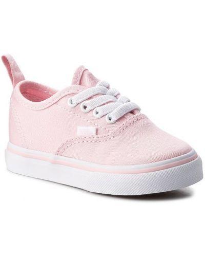 Różowe tenisówki Vans