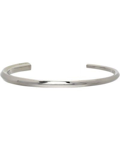 Открытый серебряный браслет Hugo