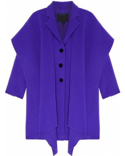Пальто с капюшоном прямое однобортное Marc Jacobs