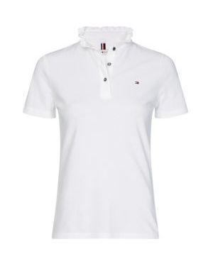 Koszulka polo z falbankami Tommy Hilfiger