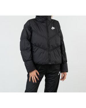 Спортивная куртка черная белая Nike