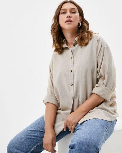 Рубашка - бежевая Mankato