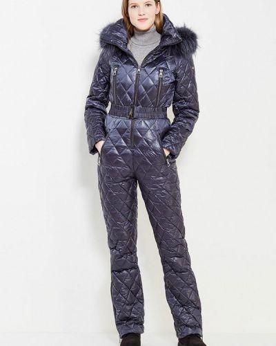 Зимний комбинезон синий теплый Conso Wear