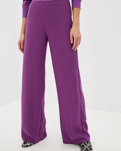 Классические брюки фиолетовые черные Pennyblack