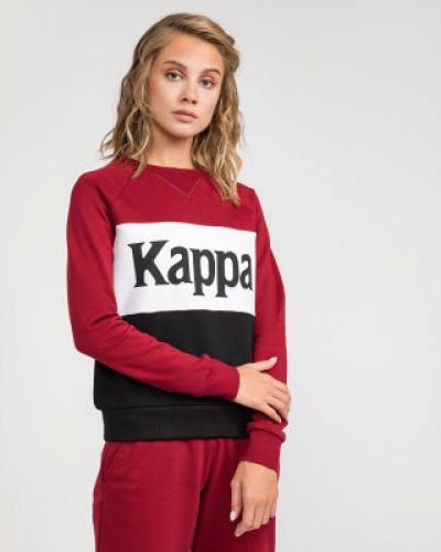 Джемпер с капюшоном красный Kappa