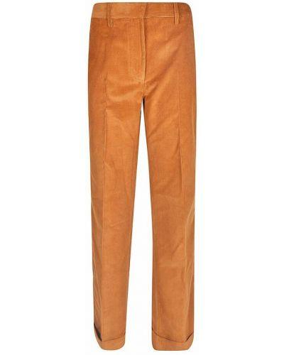 Spodnie - pomarańczowe Victoria Beckham