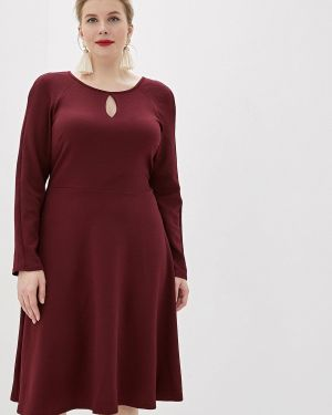 Повседневное платье осеннее красный Dorothy Perkins Curve