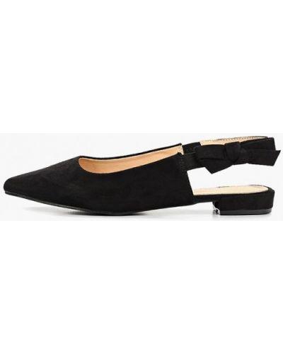 Замшевые туфли с открытой пяткой Damerose