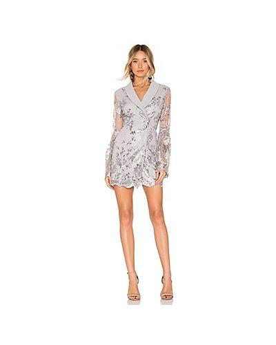 Платье с прозрачными рукавами платье-пиджак X By Nbd