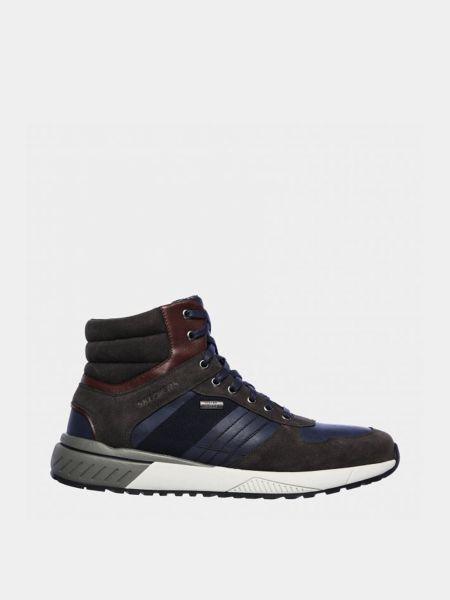 Повседневные кожаные ботинки Skechers