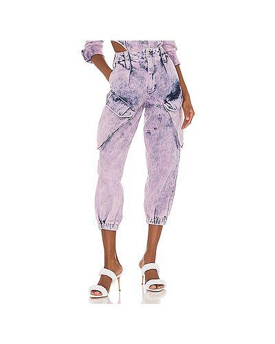 Хлопковые джинсы с карманами на молнии Marques Almeida
