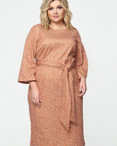 Платье миди - оранжевое Matilda