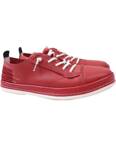 Кожаные туфли - красные Cosottinni