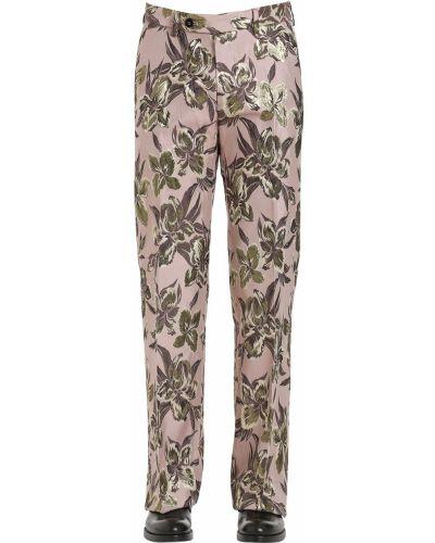 Różowe spodnie Christian Pellizzari