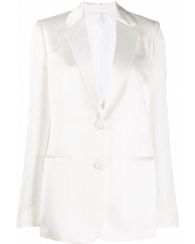 Классический пиджак в полоску приталенный Helmut Lang