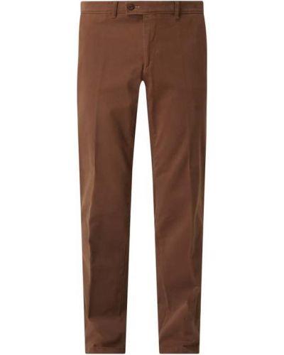 Brązowe spodnie bawełniane Brax