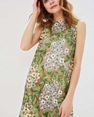 Вечернее платье весеннее зеленый Madam T