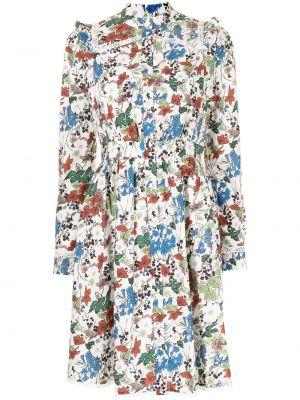 Sukienka długa z długimi rękawami Erdem