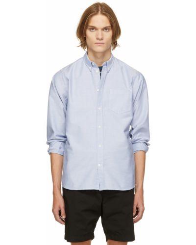 Koszula z długimi rękawami - niebieska Norse Projects