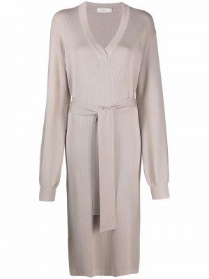 Шелковое платье - розовое Agnona