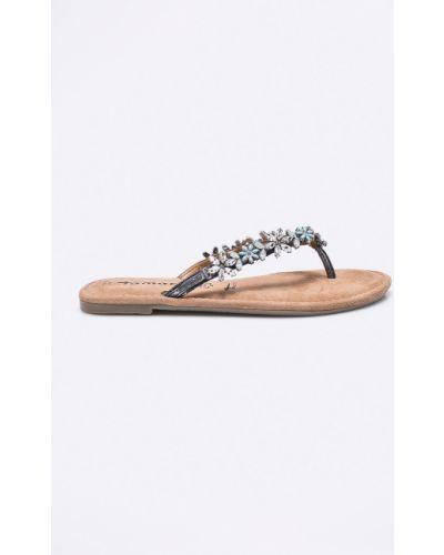 Серые сандалии Tamaris