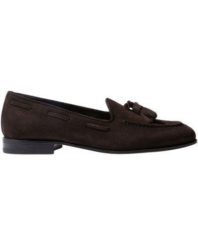 Brązowe loafers Scarosso