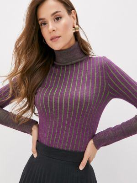 Фиолетовый свитер Mezzatorre