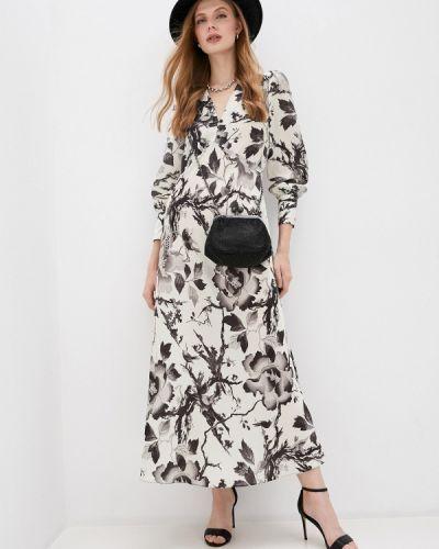 Повседневное бежевое повседневное платье Mcq Alexander Mcqueen