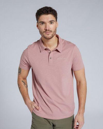 T-shirt z printem - różowa Mountain Warehouse