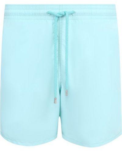 Пляжные шорты с карманами бирюзовый Vilebrequin