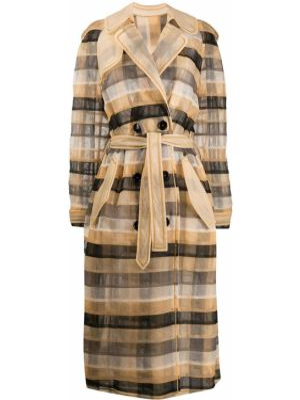 С рукавами длинное пальто двубортное с карманами Viktor & Rolf