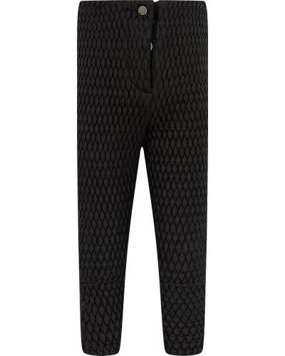 Черные утепленные брюки Naumi