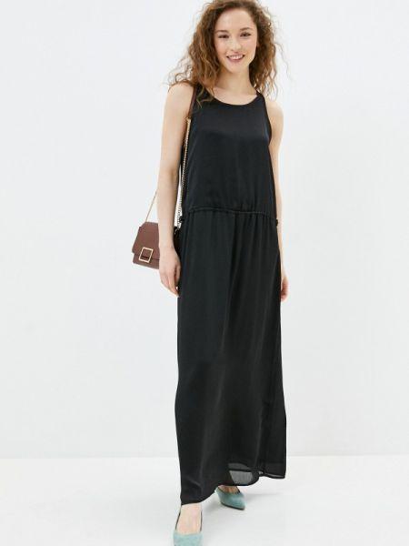 Платье прямое черное Sh
