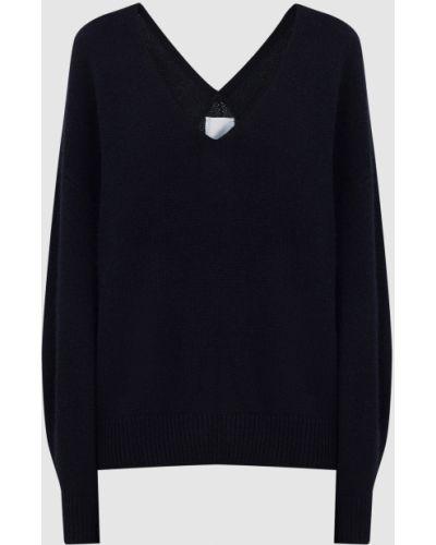 Синий кашемировый свитер Allude