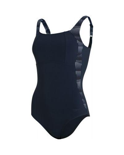 Спортивный купальник - синий Speedo