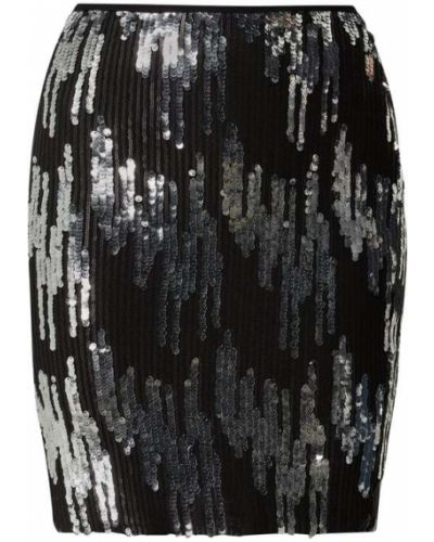 Czarna spódnica z cekinami Vero Moda Copenhagen
