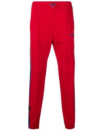 Спортивные брюки с логотипом красный Unravel Project
