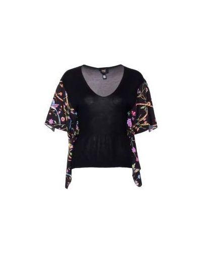 Блузка винтажная - черная Class Cavalli